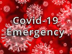 Graphic for Covid-19 Emergency